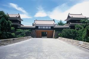 上田城櫓門 正面